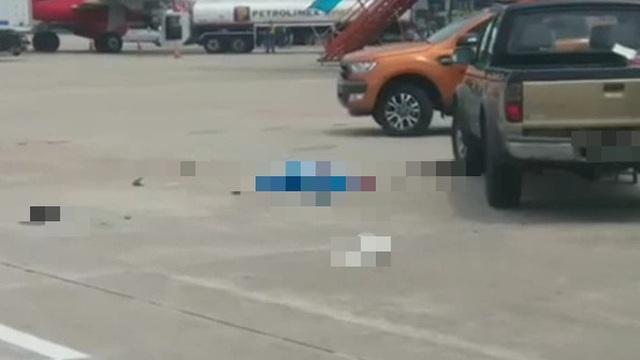 Sân bay Nội Bài thông tin chính thức vụ nữ nhân viên vệ sinh bị xe bán tải tông tử vong