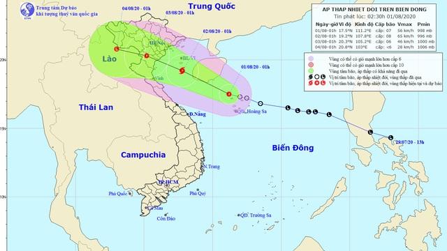 Áp thấp nhiệt đới có thể đổ bộ nam đồng bằng Bắc Bộ - Thanh Hóa, mưa lớn cả nước