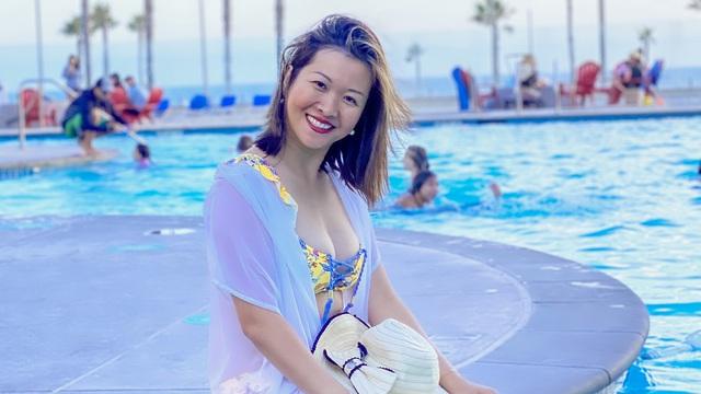 Á hậu Giang Thanh: Thông thạo 4 thứ tiếng, là giảng viên đại học tại Mỹ