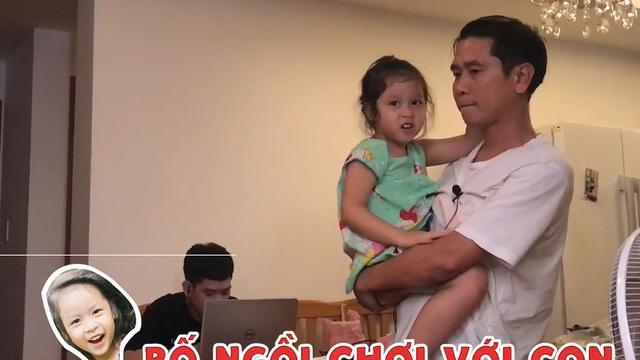 Con gái 4 tuổi hờn trách Hồ Hoài Anh