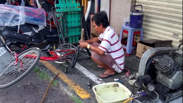 Khu nhà ổ chuột độc nhất tại trung tâm Sài Gòn