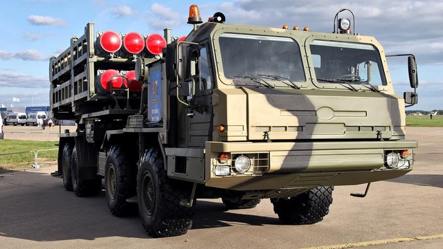 """Tổ hợp phòng không """"lai"""" S-350 Vityaz sẽ tham chiến ở Syria?"""