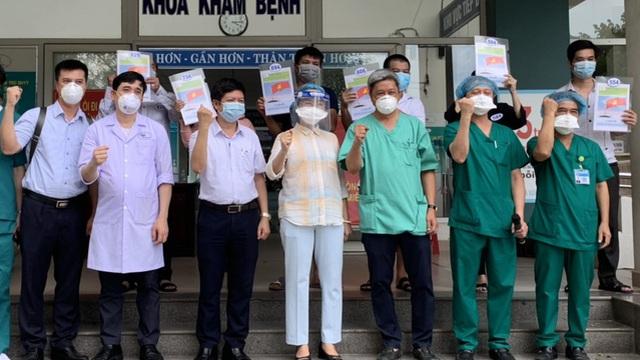 18/8: Ngày có nhiều bệnh nhân Covid-19 khỏi bệnh nhất ở Đà Nẵng, 23 trường hợp