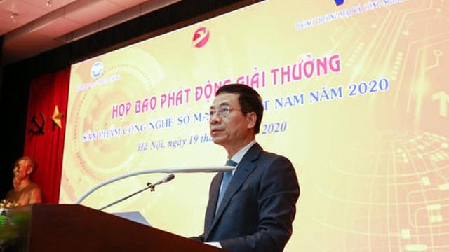 """Bộ trưởng Nguyễn Mạnh Hùng: """"Không Make in Vietnam, chúng ta không thể đi ra nước ngoài và đóng góp cho sự phát triển của nhân loại"""""""