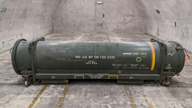 Sân bay Mỹ sơ tán khẩn khi phát hiện tên lửa bên trong container hàng