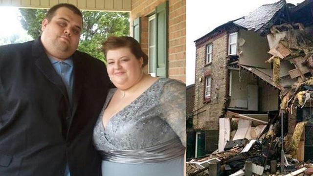 Thực hư câu chuyện cặp đôi nặng ký đang ân ái thì rơi xuống tầng hầm, phá hủy căn nhà 3 tầng lầu