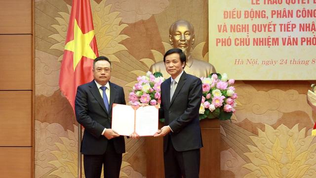 Chủ tịch Tập đoàn Dầu khí Việt Nam Trần Sỹ Thanh làm Phó Chủ nhiệm Văn phòng Quốc hội