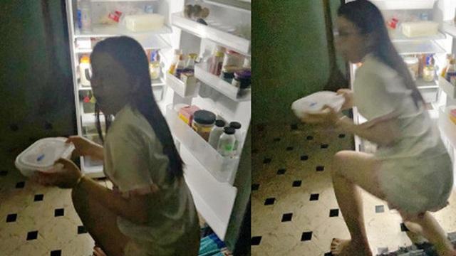 Cô gái than thở ăn kiêng mà mãi không giảm được lạng nào, dân mạng tìm ngay ra nguyên nhân nhờ bóng trắng thập thò trước tủ lạnh lúc nửa đêm!
