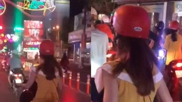 Chiều cao khiêm tốn nhưng đam mê đi xe SH, cô gái xử lý cực kỳ bất ngờ khi dừng đèn đỏ khiến ai cũng bật cười