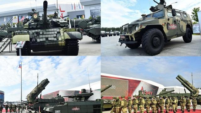 Nga khoe dàn vũ khí, thiết bị quân sự tối tân