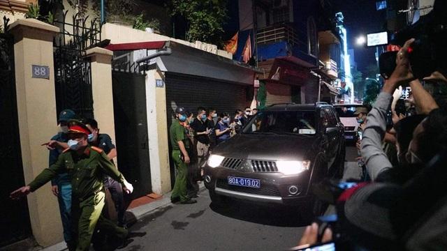 Video: Toàn cảnh vụ khám nhà riêng ông Nguyễn Đức Chung