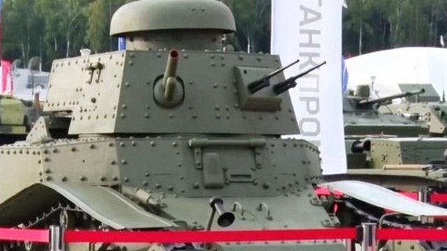 100 năm ngành công nghiệp sản xuất xe tăng Nga