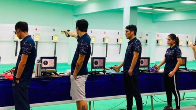 Xạ thủ Việt Nam đấu súng... online với VĐV quốc tế