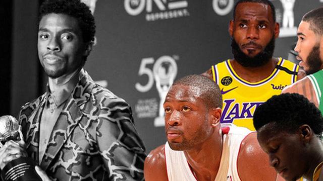 """LeBron James cùng loạt sao NBA tiếc thương trước sự ra đi đột ngột của nam tài tử """"Black Panther"""" Chadwick Boseman"""