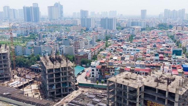 Một phần của dự án 10.000 tỷ đồng ở Hà Nội trở thành những khối nhà hoang
