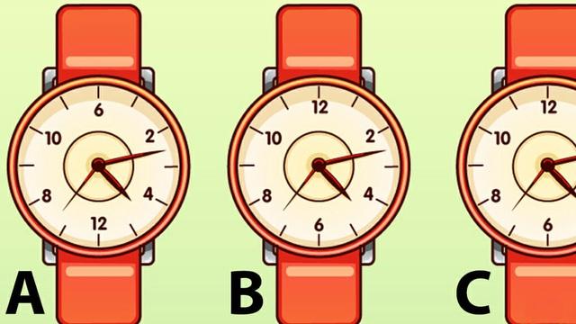Người nhạy bén rất có thể tìm ra lỗi sai của 1 chiếc đồng hồ chỉ trong 3 giây - bạn thì sao?