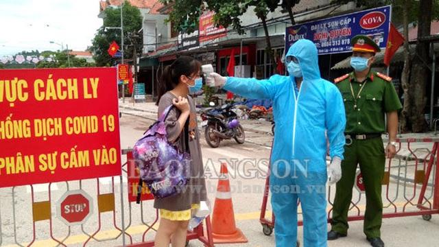Lạng Sơn: Lịch trình di chuyển dày đặc của 4 người trong gia đình mắc Covid-19