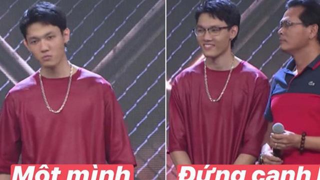 Khoảnh khắc viral của Rap Việt thuộc về Tage: Làm 'cool boy' với cả thế giới nhưng lại là 'good boy' của ba