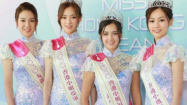 Tranh cãi khoảnh khắc tân Hoa hậu Hong Kong chiều cao hạn chế, lọt thỏm giữa dàn Á hậu trong sự kiện ra mắt đầu tiên