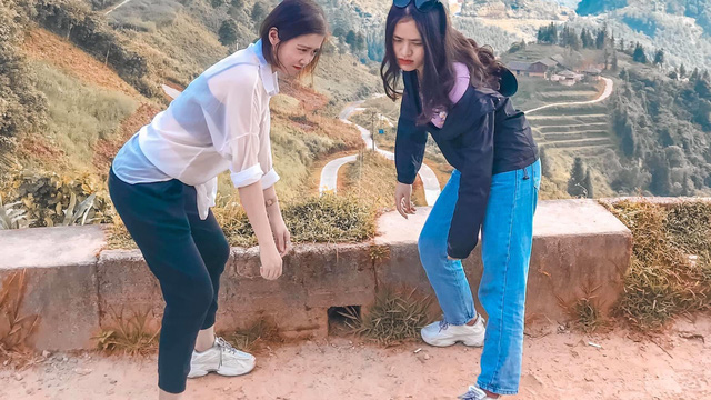 """Hai cô gái rủ nhau phượt Hà Giang: Trải nghiệm mạo hiểm và loạt ảnh """"khó đỡ"""" trên từng cây số"""