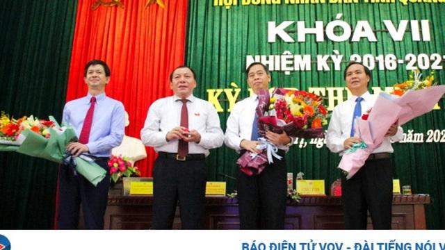 Ông Nguyễn Đăng Quang được bầu làm Chủ tịch HĐND tỉnhQuảng Trị