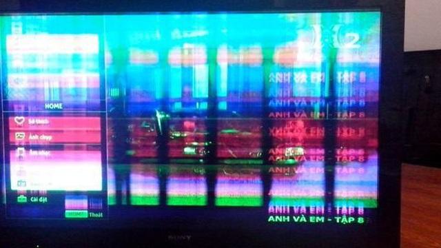 Các bước đơn giản khắc phục tivi bị sọc màn hình