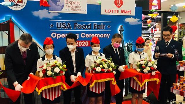 """Đại sứ Hoa Kỳ Daniel Kritenbrink: """"Chúng tôi hài lòng với tiến độ nhập khẩu nông sản Hoa Kỳ của Việt Nam"""""""