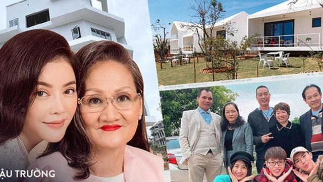 """Sao Việt báo hiếu cha mẹ: Toàn mua nhà, mua xe tiền tỷ nhưng """"chất"""" nhất vẫn là đại gia Lý Nhã Kỳ tặng mẹ hẳn resort"""