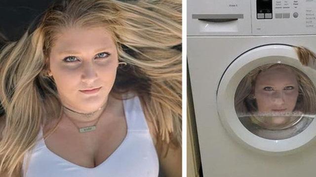 """Nhờ chỉnh ảnh trông như nằm trên nước, cô gái được cho luôn vào máy giặt và những người có chung cảnh ngộ khi lỡ tìm đến """"thánh photoshop"""" thích đùa"""