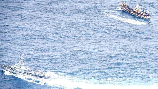 Ngụy trang tàu cá gây rối: Thách thức an ninh hàng hải