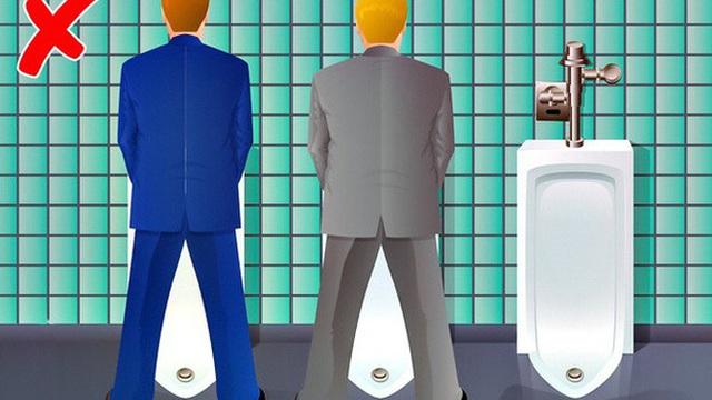 """Những quy tắc """"bất thành văn"""" mà bạn làm trong vô thức: Đi vệ sinh không bao giờ đứng ngay cạnh người khác?"""