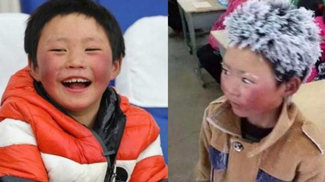 'Cậu bé băng giá' khốn khổ, đầu đội mưa tuyết trắng xóa đi bộ đến trường lay động MXH ngày trước bây giờ có cuộc sống ra sao?