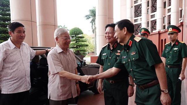 Tổng Bí thư, Chủ tịch nước trực tiếp chỉ đạo Đại hội Đảng bộ Quân đội