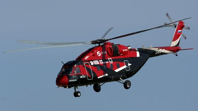 Trực thăng Mi-38 được trang bị hệ thống chống đóng băng độc đáo