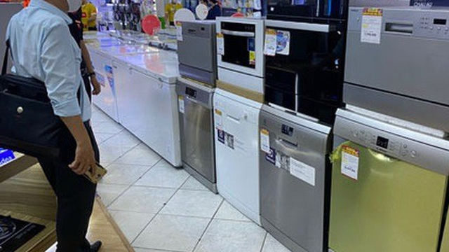 Máy rửa chén đã qua sử dụng được mua nhiều
