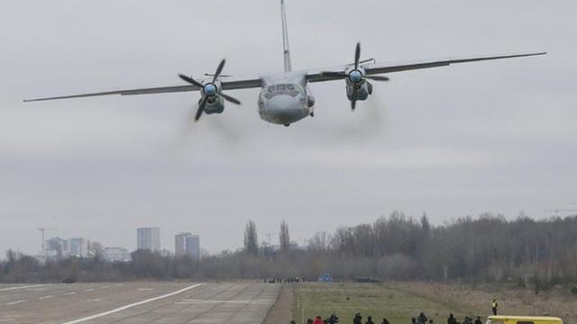 """""""Ngựa thồ già"""" An-26 máy bay vận tải vừa bị tai nạn ở Ucraina"""