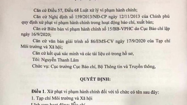 Thu giấy phép 2 tháng tạp chí thông tin sai về Bí thư Tỉnh ủy Đắk Lắk
