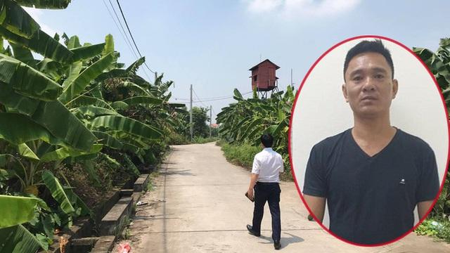 """Bắt tạm giam 4 tháng gã """"yêu râu xanh"""" hiếp dâm bé gái 12 tuổi trong vườn chuối ở Gia Lâm"""