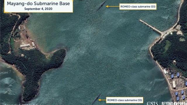 Triều Tiên đang chuẩn bị phóng tên lửa đạn đạo từ tàu ngầm?