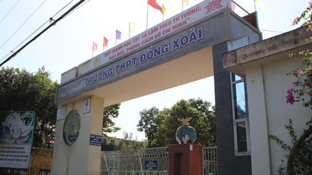 Bình Phước: Hiệu trưởng trường THPT viết tâm thư vì bị ép nhận thêm học sinh