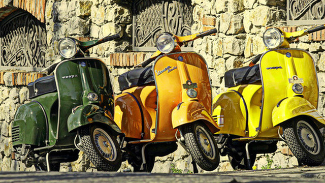 Nơi cho dân cuồng Vespa: Bảo tàng tập hợp toàn Vespa quý hiếm từ… bãi rác