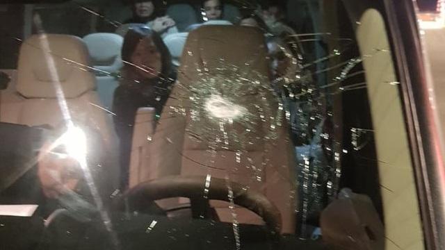 Nhiều ô tô bị ném đá trên cao tốc Lạng Sơn - Bắc Giang