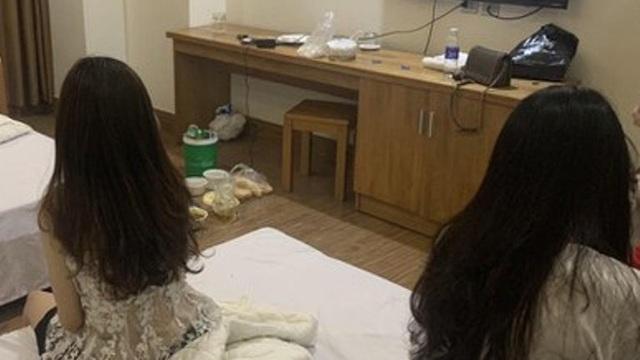 Bắt nhóm đối tượng tổ chức bán dâm, 'bay lắc' cho dân chơi trong khách sạn