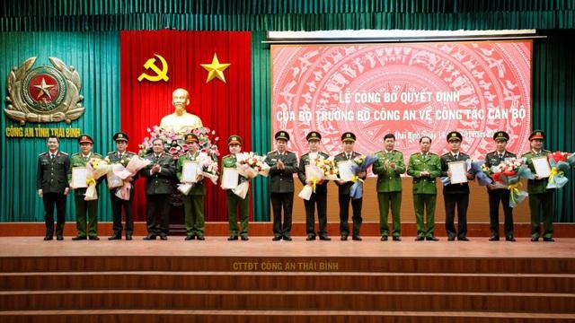 Bộ Công an điều động hàng loạt cán bộ chủ chốt Công an tỉnh Thái Bình