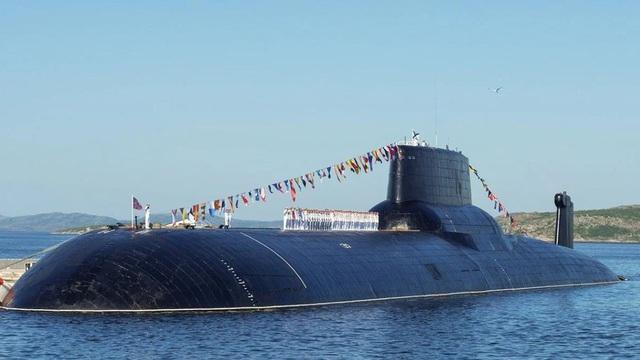 """Tàu ngầm """"quái vật Akula"""" duy nhất còn sót lại trong hải quân Nga đã trở lại"""