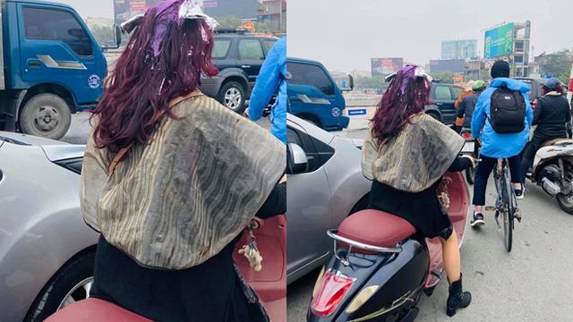"""Có mái tóc """"chất chơi"""" khiến cả phố ngoái nhìn, người phụ nữ bất ngờ bị phê bình vì lỗi sai cơ bản"""