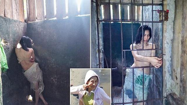 Cô gái có ước mơ làm người mẫu bị nhốt vào chuồng, chia sẻ của người thân khiến ai cũng xót xa