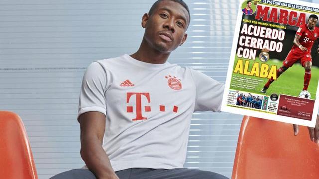 """Chịu chi mức lương """"khủng"""", Real Madrid nổ """"bom tấn"""" David Alaba"""