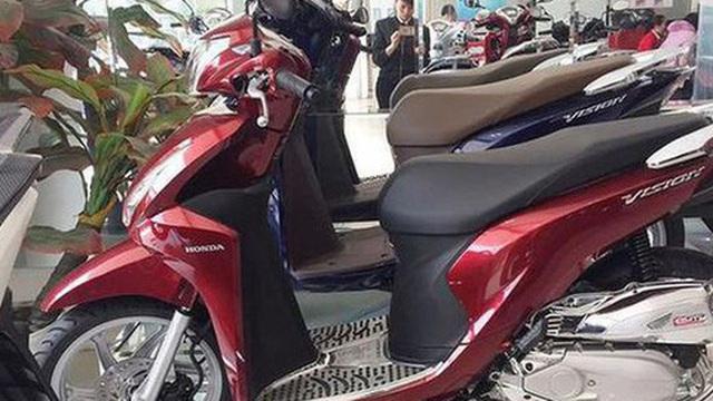 Doanh số xe máy Honda giảm mạnh trong năm 2020