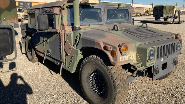 Xe thiết giáp của Vệ binh quốc gia Mỹ bị đánh cắp, FBI treo thưởng 10.000USD để tìm lại